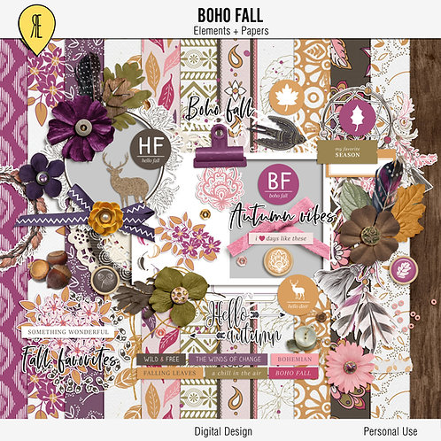 Boho Fall Full Kit