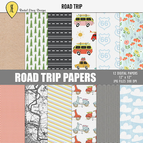 Road Trip - Papers