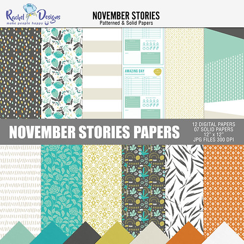 November Stories - Papers