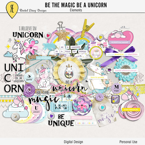 Be the magic be a unicorn - Elements