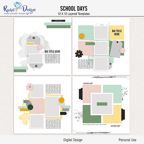 School Days - Templates