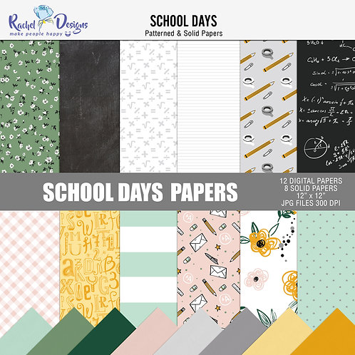School Days - Papers