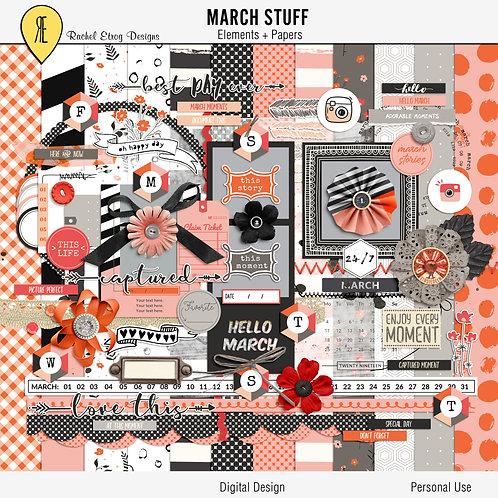 March Stuff - Kit