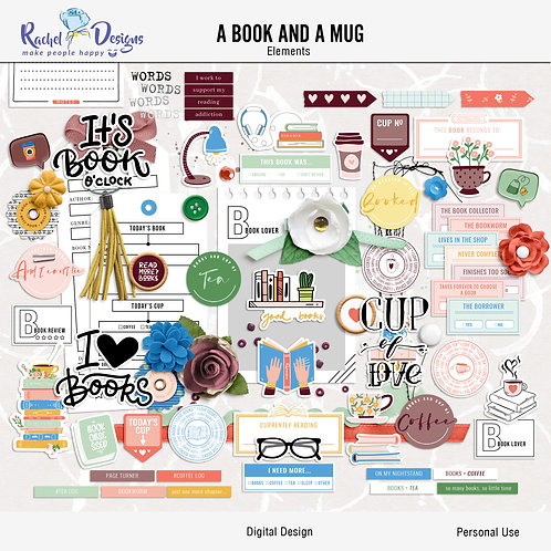 A Book And A Mug - Elements