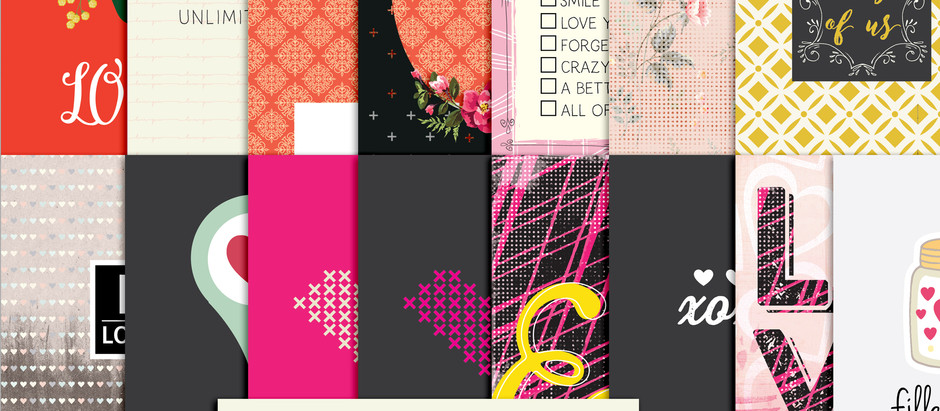 My Love- journal cards