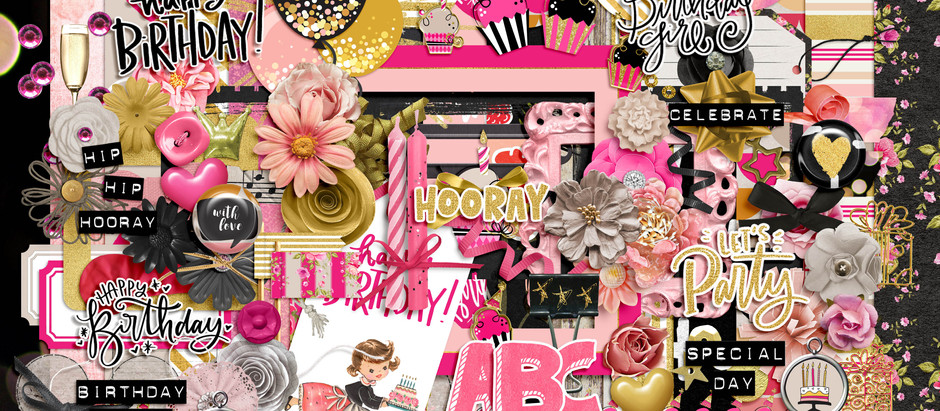 Shop Updade - Celebrate Girl / Boy scrapbook kits