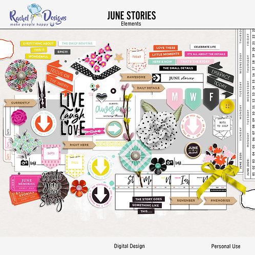 June Stories - Elements