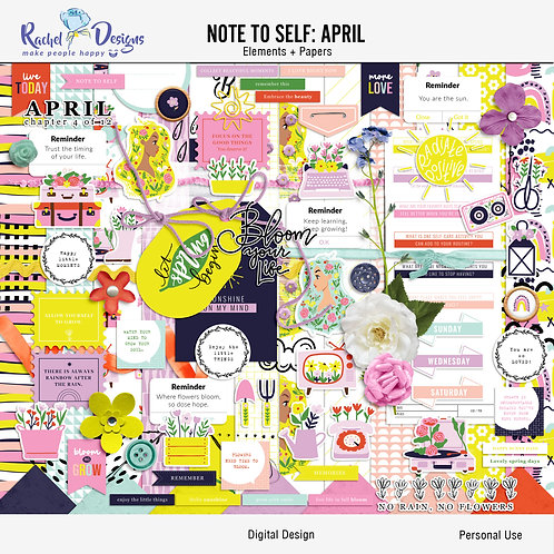 Note To Self April - Kit