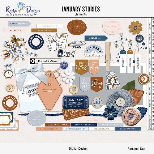 January Stories - Elements