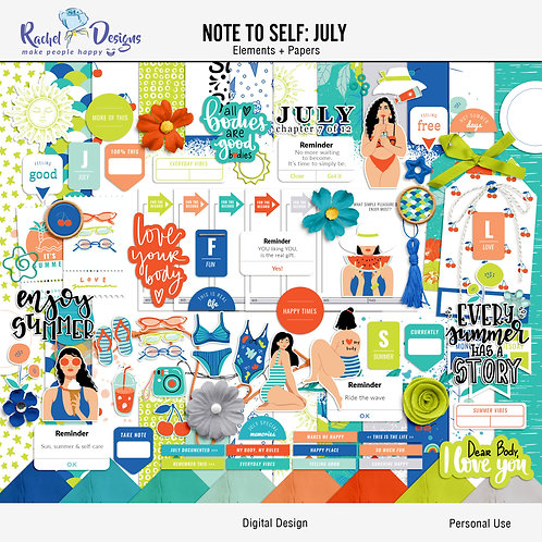 Note To Self July - Kit