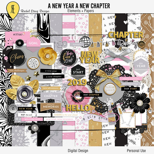A New Year A New Chapter - Kit