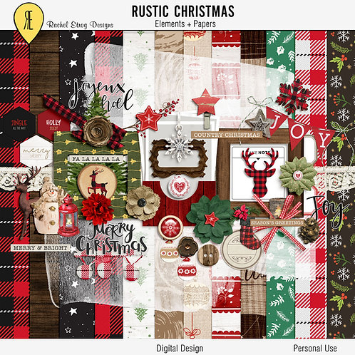 Rustic Christmas Full Kit