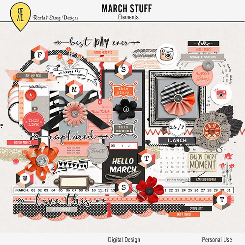 March Stuff - Elements