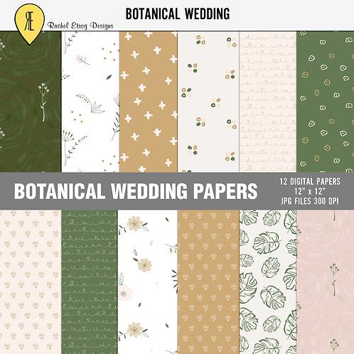 Botanical Wedding - Papers