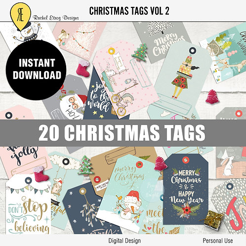 Christmas Tags vol 2