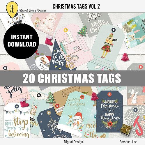 Christmas Tags vol 2
