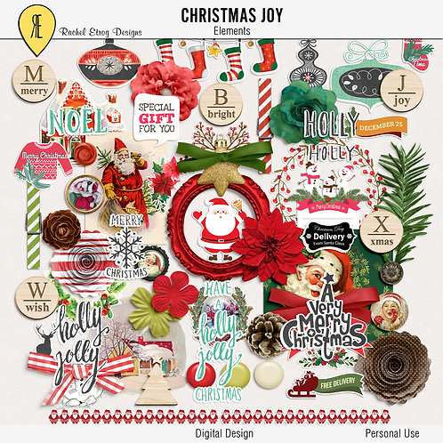 Christmas Joy Elements