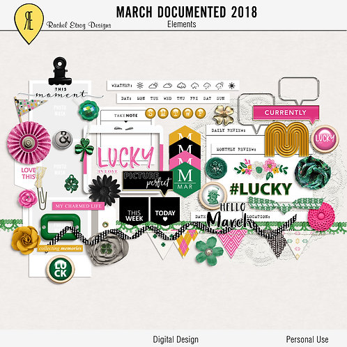 March Documented 2018 - Elements