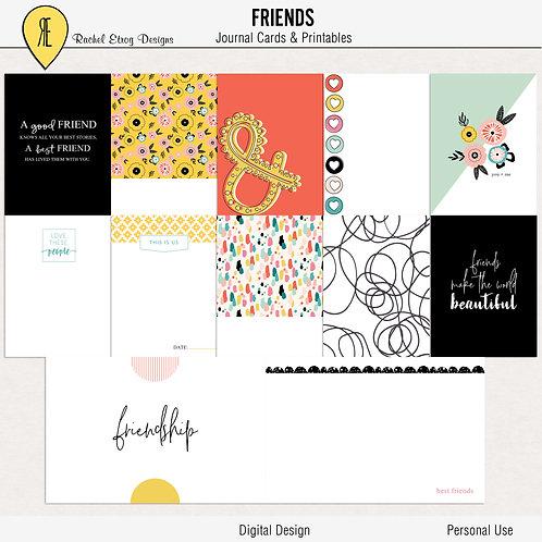 Friends - Journal cards