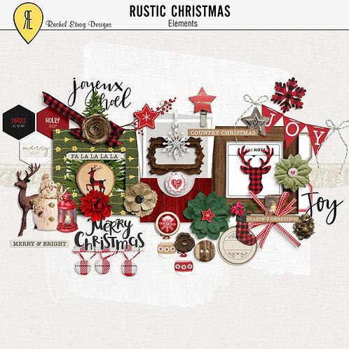 Rustic Christmas - Elements