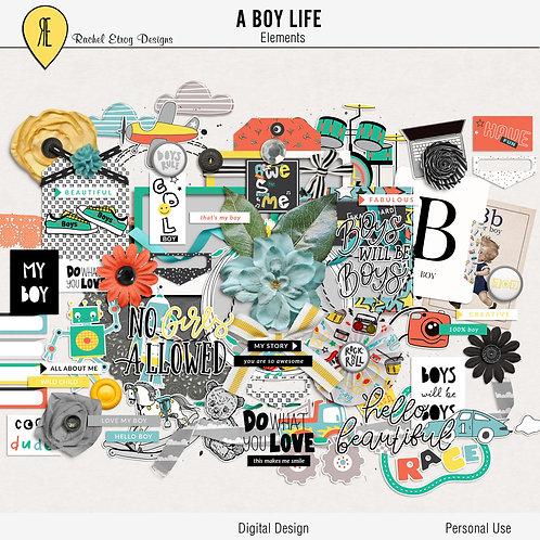 A Boy Life - Elements