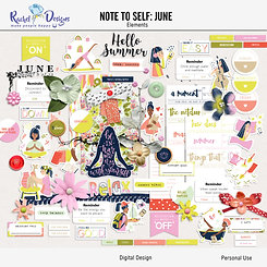 Note To Self June - Elements
