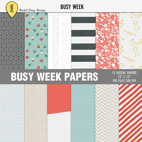 Busy Week - Papers