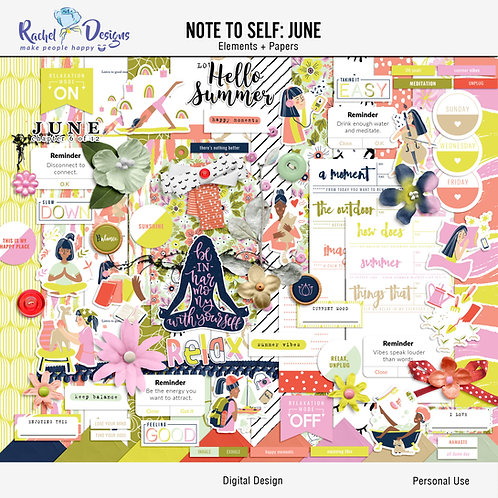 Note To Self June - Kit