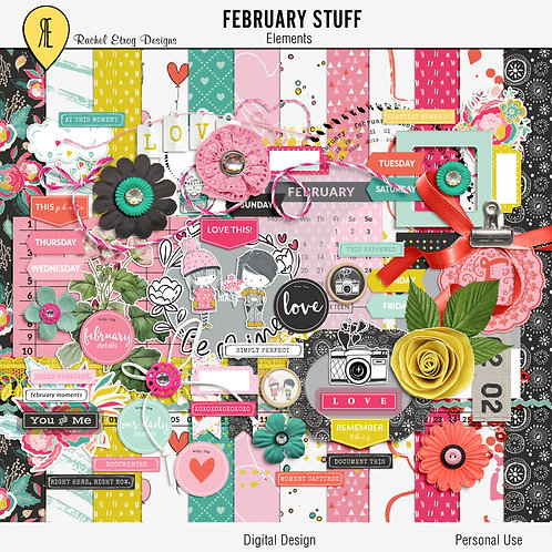 February Stuff - Kit