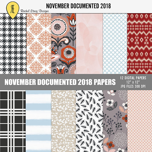November Documented 2018 - Papers