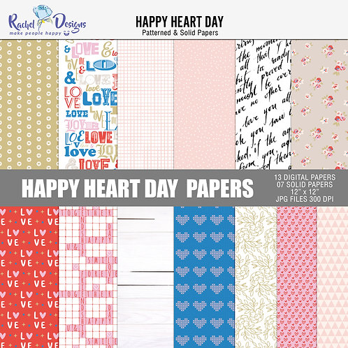 Happy Heart Day - Papers