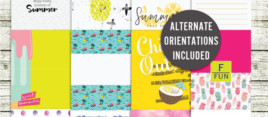 Shop Update - Summer Fun Journal cards