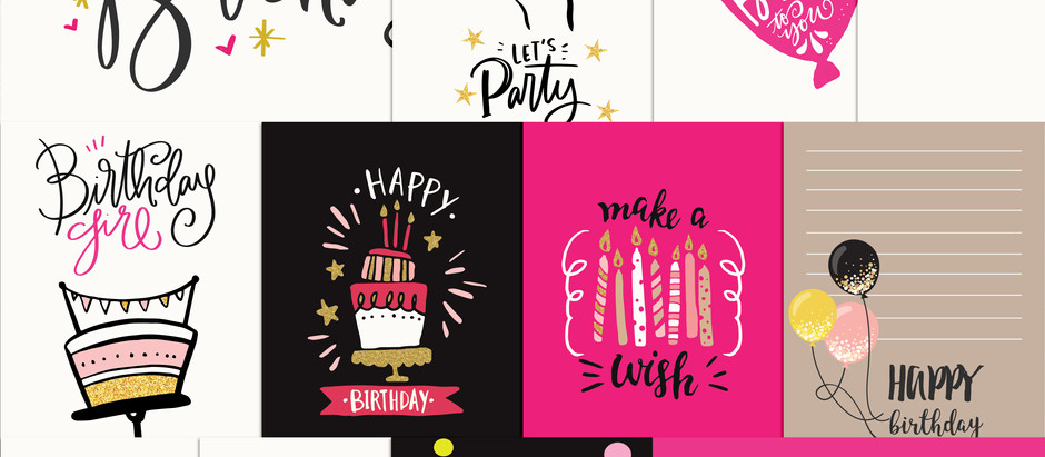 Shop Update - Celebrate Boy / Girl Journal cards