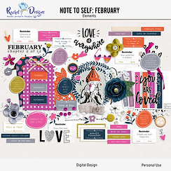 Note To Self February - Elements