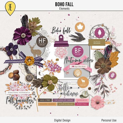 Boho Fall - Elements