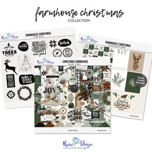 Farmhouse Christmas - Collection