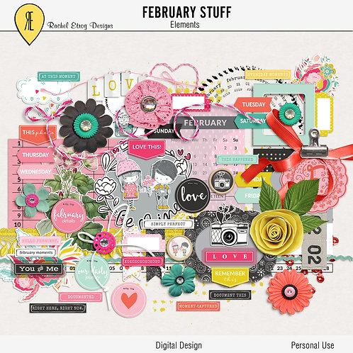 February Stuff - Elements
