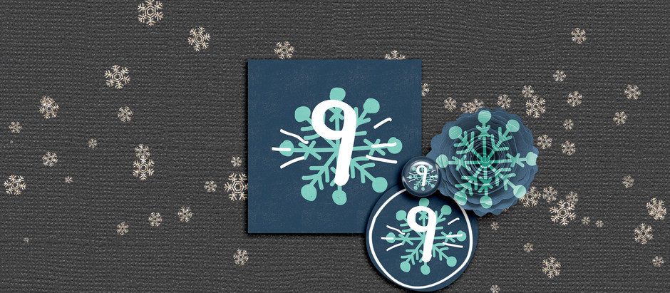 Advent christmas calender day 9