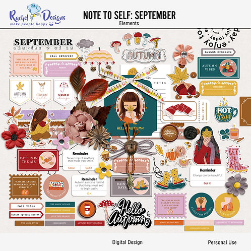 Note To Self September - Elements