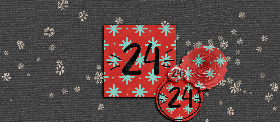 Advent christmas calender day 24