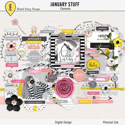 January Stuff - Elements