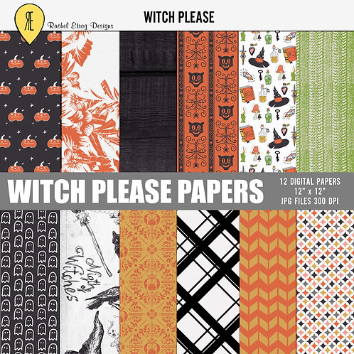 Witch Please - Papers