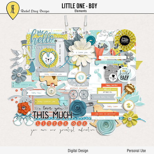 Little One Boy - Elements