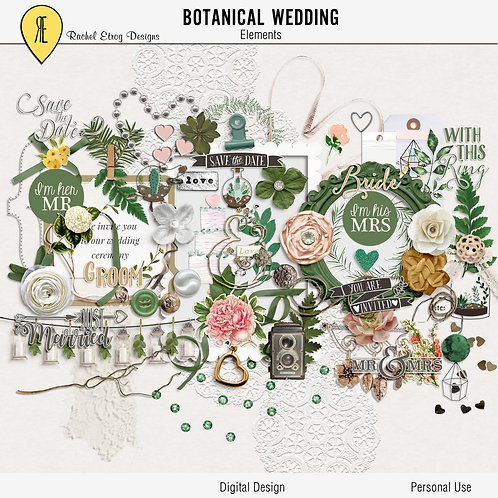 Botanical Wedding - Elements