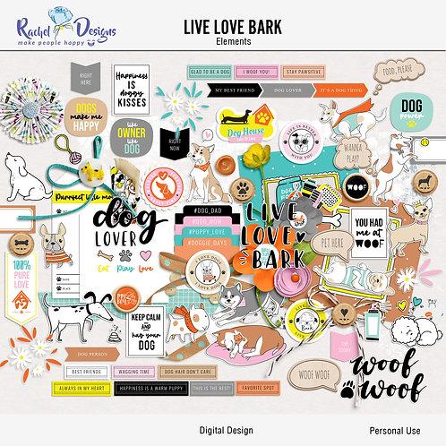 Live Love Bark - Elements