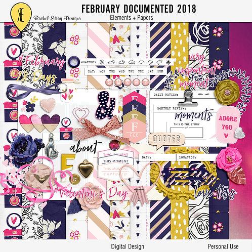 February Documented 2018 Full Kit