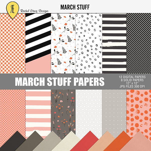 March Stuff - Papers
