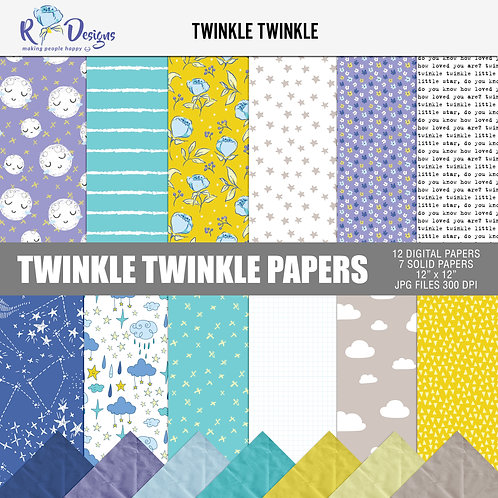 Twinkle Twinkle - Papers