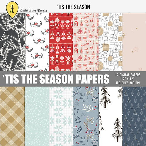 Tis The Season - Papers