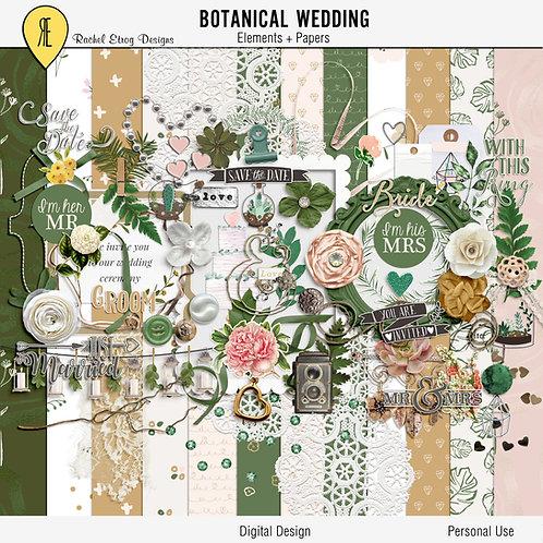 Botanical Wedding Full Kit